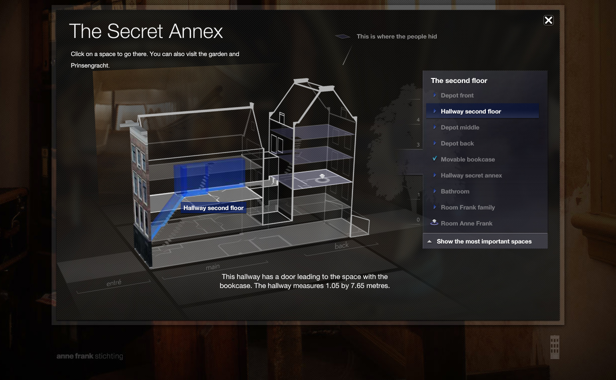 Lbi Lost Boys And Anne Frank House Launch Secret Annex